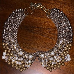 Anthropologie Bib Collar Necklace